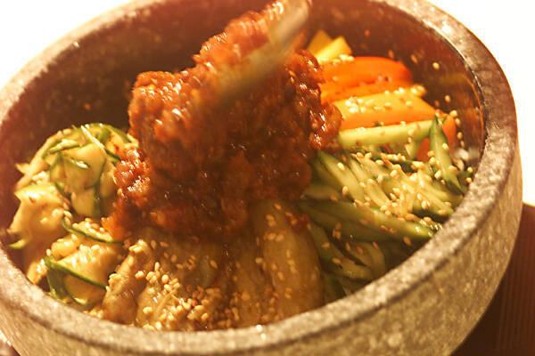 夏野菜のビビンバの作り方の手順7