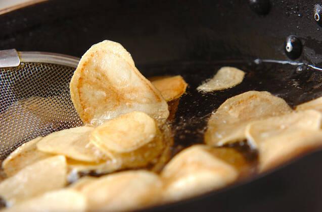 ポテトチップス・チリソースの作り方の手順3