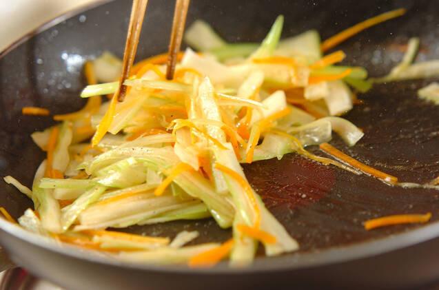 サワラのガーリックステーキの作り方の手順6