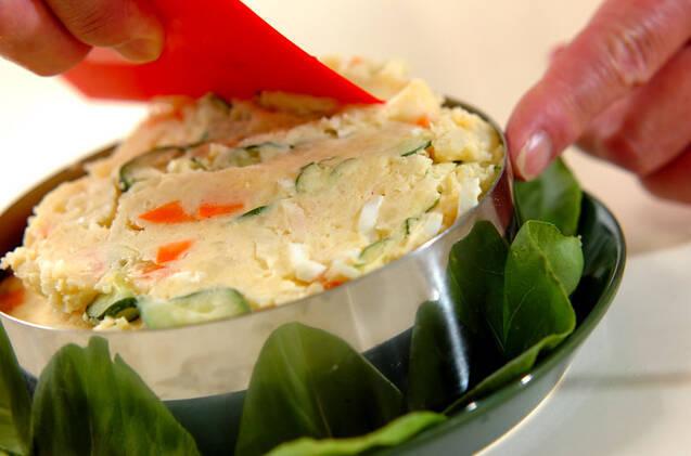 ハロウィンのポテトサラダの作り方の手順5