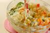 ハロウィンのポテトサラダの作り方の手順4
