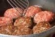 キノコ入りハンバーグの作り方3