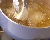 揚げジャガイモの赤ピーマンソースの作り方1