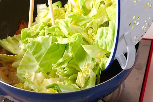 春キャベツのカレー炒めの作り方の手順7