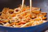春キャベツのカレー炒めの作り方の手順6