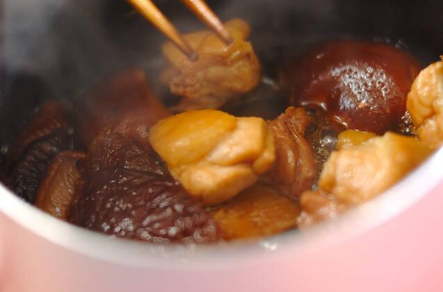 高野豆腐の煮物の作り方の手順8