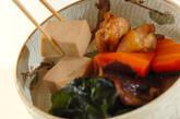 高野豆腐の煮物の作り方9