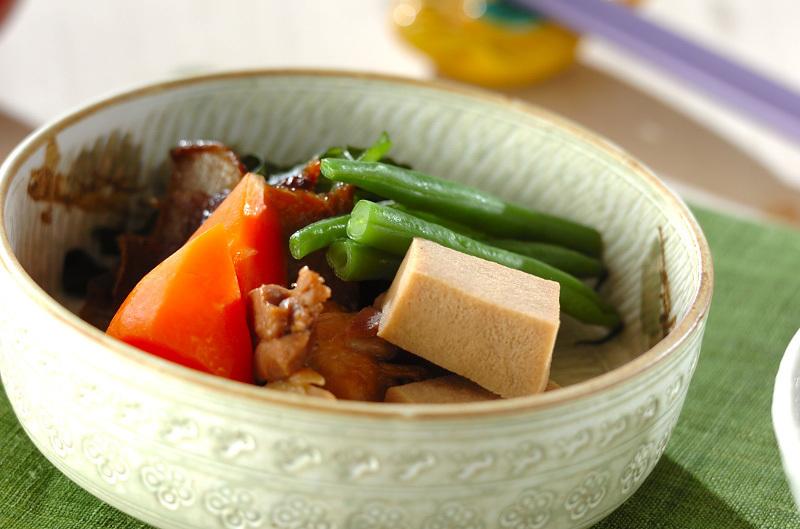 1. 別鍋で分けて煮る、プロ方式の高野豆腐の煮物