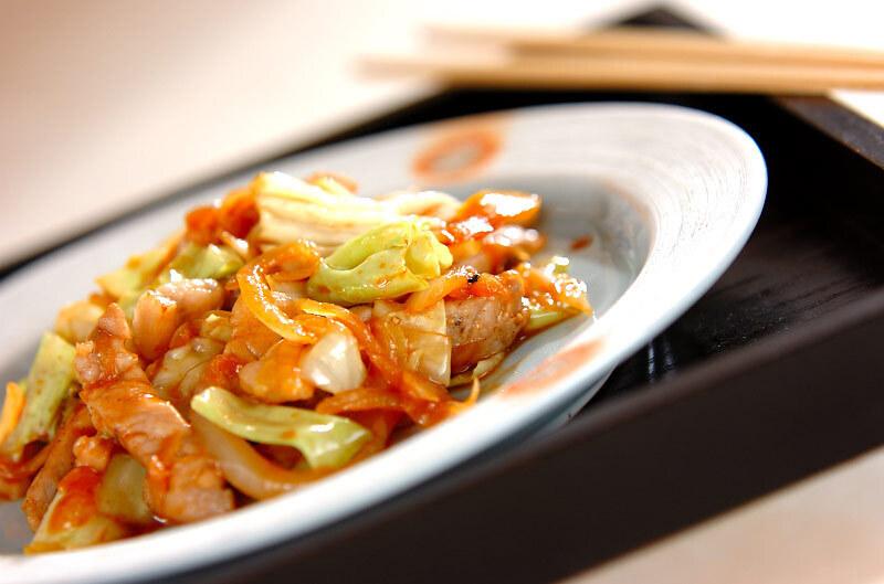 1. 豚肉のスタミナ炒め