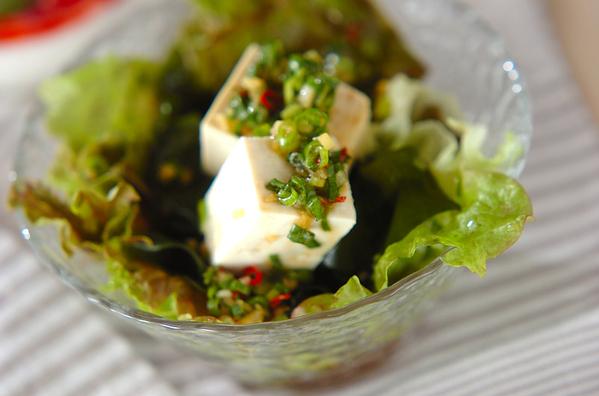 3. わかめの香味サラダ
