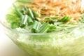 冷シャブの大きなサラダの作り方1