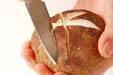 大きな焼きシイタケの作り方の手順1