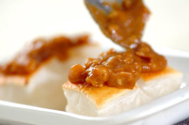 クルミみそ餅の作り方の手順3