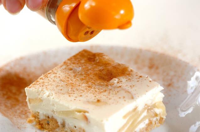 ジンジャーアップルチーズケーキの作り方の手順10