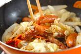 ソーセージとキャベツの粒マスタード煮の作り方6