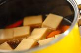 高野豆腐の煮物の作り方4