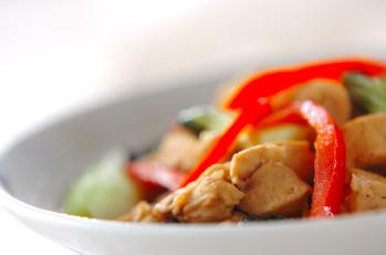 鶏肉の酢煮