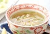 春雨と野菜のスープ