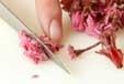 春の桜ケーキの下準備3