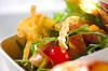 マグロのマリネサラダの作り方の手順