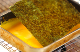 のり入り卵焼きの作り方2