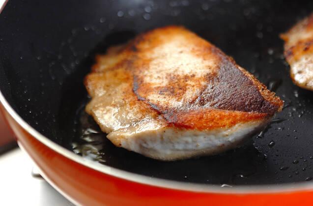 ブリの照り焼きの作り方の手順5