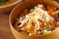 根菜の炊き込みご飯