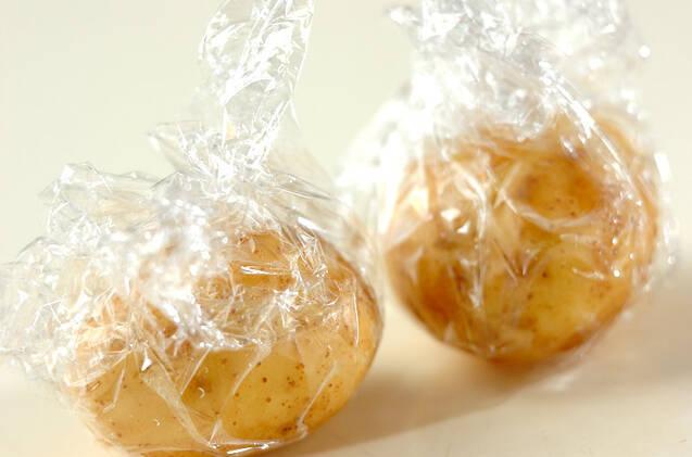 ジャガのタラコクリームの作り方の手順1