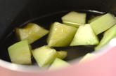 バニラ風味のメロンデザートの作り方2