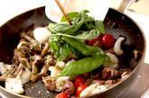 イカと砂肝の炒め物の作り方4