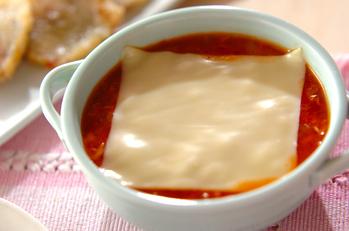 ツナトマトスープ