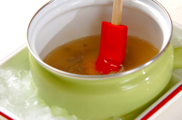 梅酒のゼリーの作り方の手順4