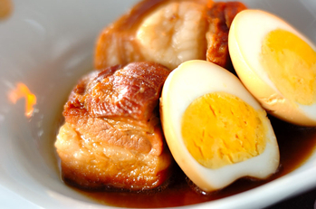 卵入り豚の角煮
