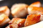 卵入り豚の角煮の下準備1