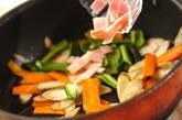 ゴボウのバルサミコ炒めの作り方5