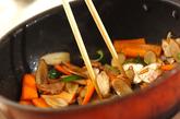 ゴボウのバルサミコ炒めの作り方2