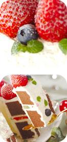 森のイチゴケーキ
