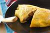 納豆と野沢菜の和風オムライス