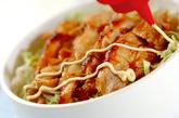 鶏の梅照り焼き丼の作り方3