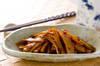 水煮メンマの炒め煮の作り方の手順