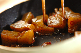 ピリ辛コンニャクの作り方2