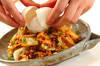 キャベツの肉みそキムチ炒めの作り方の手順7