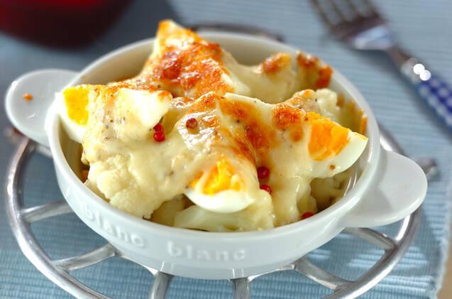 カリフラワーのチーズ焼き