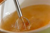 ナメコとおろし長芋のみそ汁の作り方1