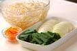 レバーと野菜の炒め物の下準備2