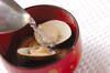 ハマグリのお吸い物の作り方の手順5