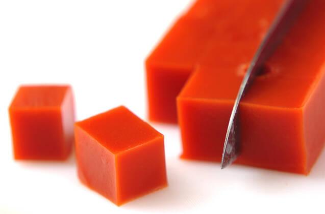 トマトの寒天サラダの作り方の手順4