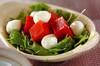 トマトの寒天サラダの作り方の手順