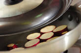 サツマイモと豚肉の炒め物の作り方3