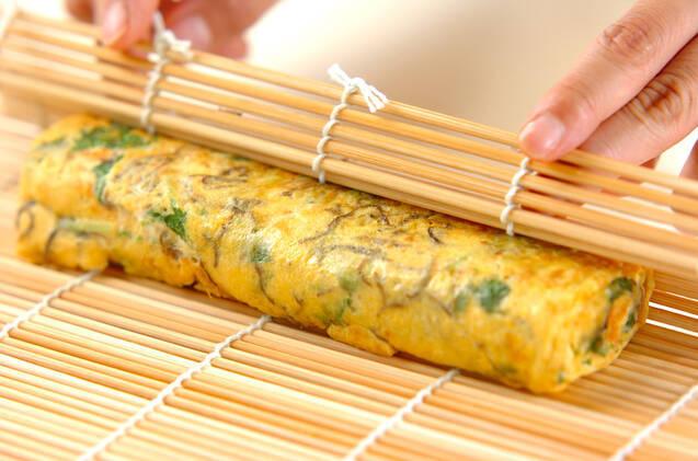 もずくの卵焼きの作り方の手順6